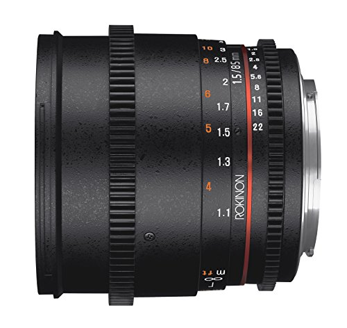 Rokinon Cine DS85M-C 85mm AS UMC Lens Canon EF