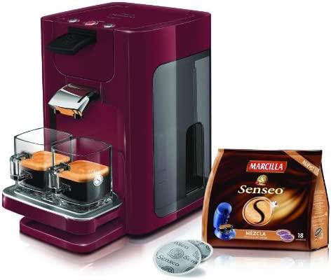 Philips - Cafetera Monodosis Senseo (Hd786082, 1450W, 2 Tazas, 1.2 ...