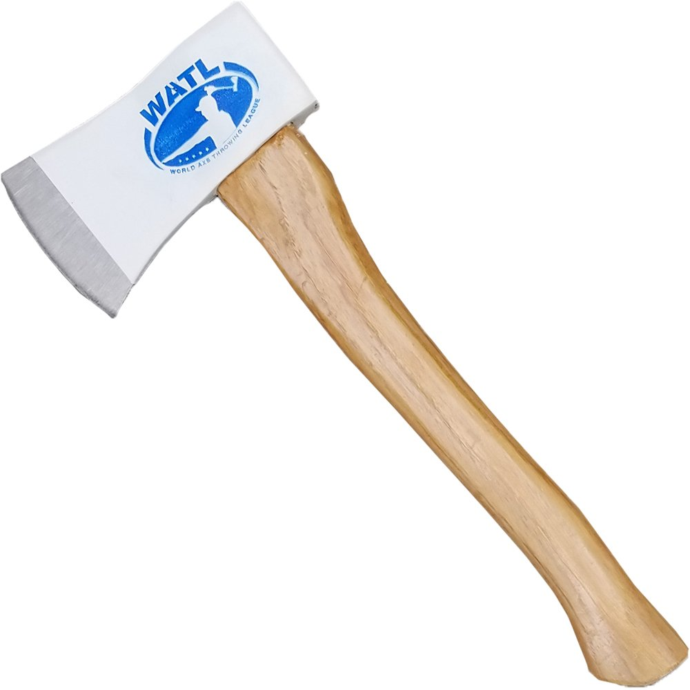 World Axe Throwing League Official (WATL) Competition Throwing Axe - 15'' Hickory Wood Handle