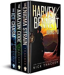Harvey Bennett Mysteries: Books 1-3 (Harvey Bennett Thrillers Box Set Book  1)