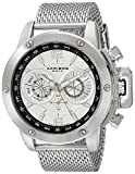 Akribos XXIV Men's AK515SSW Mesh Bracelet Multi-Function Watch