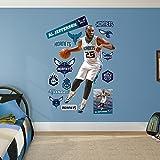 NBA Charlotte Hornets Al Jefferson Fathead Real Big Decals, 49''W x 75''H