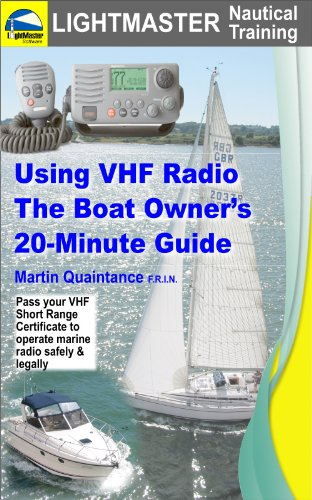 Using VHF Radio: The Boat Owner's 20-Minute (Dsc Marine Radio)
