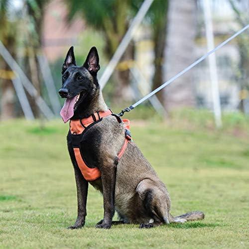 Louvra Arnés del Perro Collars de Perro Reflectante, Tamaño XL (81 ...