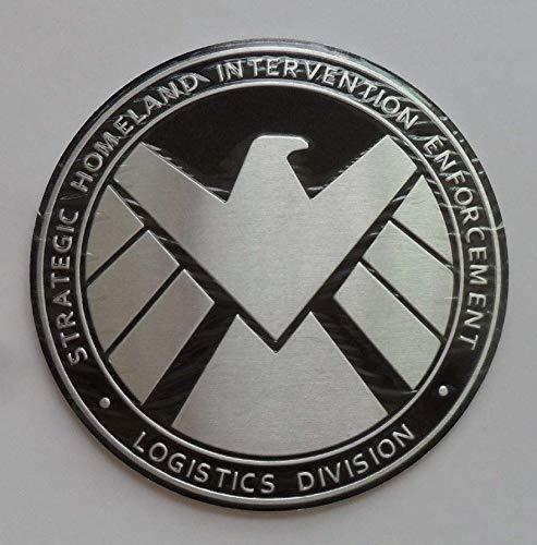 Luck16888 Avengers Marvel Agents of Shield 3D Chrome Metal Car Sticker Badge Emblem Decals