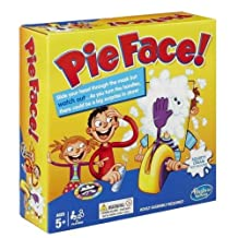 Hasbro Rocket Games PIE FACE In Hand Children Toy Birthday Gift Funny Exciting
