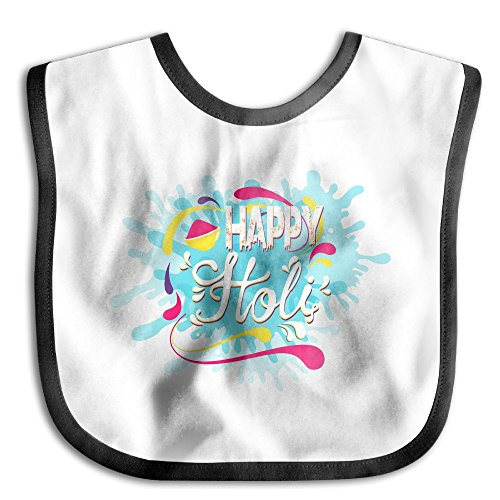 Price comparison product image Holi Festival Bibs Baby Drool Bibs For Drooling And Teething,  Organic Cotton, Super Absorbent, Stylish Design For Baby Girls Toddler,  Baby Shower Gift Set