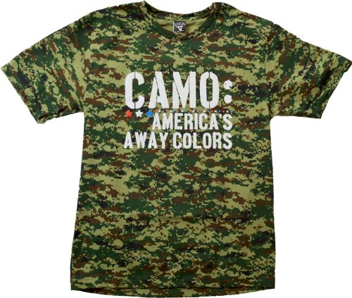 CAMO: America's Away Colors | USA Camouflage Merica Patriot Pride Unisex T-shirt