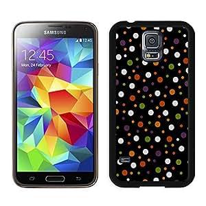 Customization Halloween Texture Black Samsung Galaxy S5 Case 1