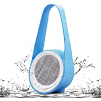 Portable Waterproof Bluetooth Wireless Speaker Sound System with Bluetooth Hands Free Calling Playtime up to 8 Hours(Blue)