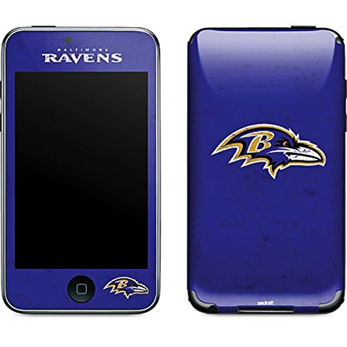 Baltimore Ravens Ipod Skin - Skinit Baltimore Ravens Distressed Vinyl Skin for iPod Touch (2nd & 3rd Gen)