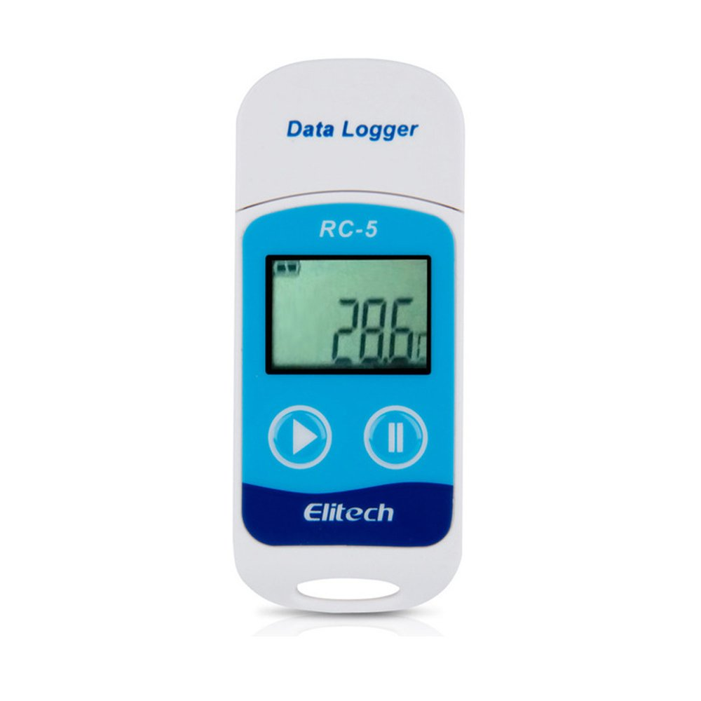 USB Temperature Data Logger Recorder 32000 Points High Accuracy IP67 Water-resistant Design Thermometer