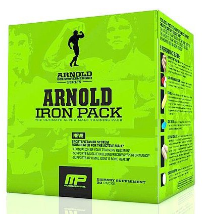 Arnold By MusclePharm Iron Pack 20 packs