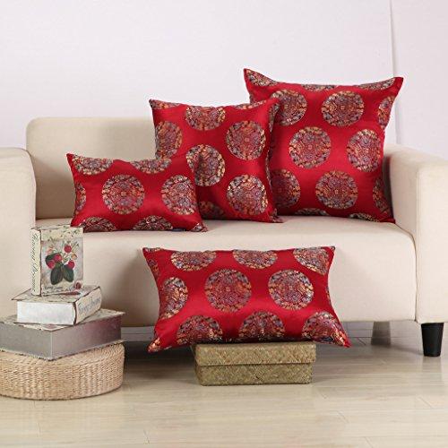 MochoHome Satin Dragon Rectangular Decorative Throw Pillow C