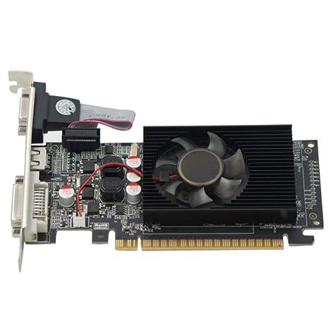 GeForce GT730 - Tarjeta gráfica (2 GB, DDR3, 64 bits, DVI ...