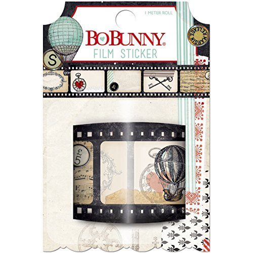 Bo Bunny Star-Crossed Film Stickers, 1m/Roll