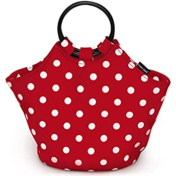 Freddie and Sebbie Lunch Bag - Fashionable Reusable Insulated Large Red Neoprene Lunch Box - Luxury Lunch Bags Boxes For Women, Adults, Kids, Girls, and Teen Girls