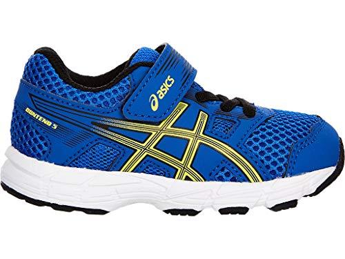 ASICS Kid's Contend 5 TS Running Shoes, K9, Illusion Blue/Lemon -