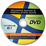 Image of Windows 8.1 All Version Home Pro etc Windows 8 Reinstall Repair System Recovery CD Restore OS Install DVD
