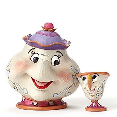 Disney Traditions Mrs. Potts and Chip Figure