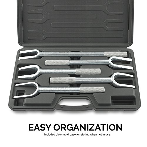 Neiko 20687A Ball Joint Separator Tie Rod Remover Pickle Fork, 5 Piece Set by Neiko (Image #3)