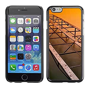 Paccase / SLIM PC / Aliminium Casa Carcasa Funda Case Cover - Architecture Old Bridge - Apple Iphone 6 Plus 5.5