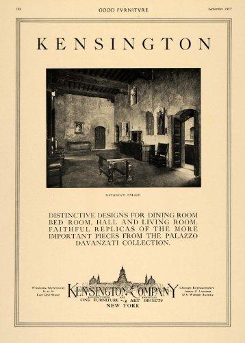 1917-ad-davanzati-palace-kensington-company-furniture-original-print-ad