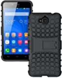 S-Softline Tough Dual Armor Kick Stand Case for Huawei Honor Holly 2 Plus