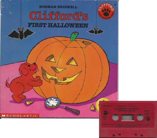 Clifford's First Halloween Book and Audiocassette Tape Set