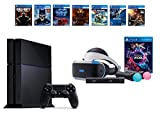 PlayStation VR Launch Bundle 8 Items:VR Launch Bundle,PS4 Call of Duty Black Ops III,6 VR Game Disc Until Dawn,Rush of Blood,EVE: Valkyrie, Battlezone,Batman:Arkham VR, DriveClub,Battlezone