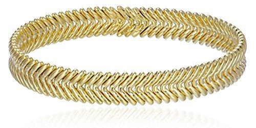 """Chimento """"Armillas"""" V-Pattern Cuff Bracelet"""