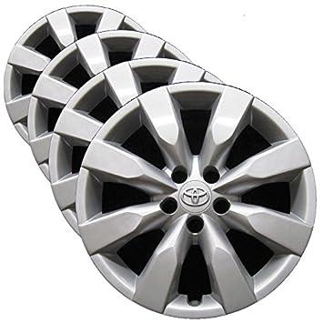 OEM genuino Toyota Rueda – Juego de funda nórdica (fábrica de repuesto tapacubos para 2014
