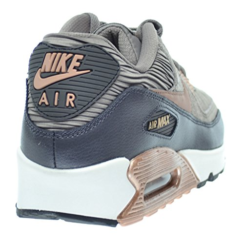 info for a7116 9dfc1 Amazon.com  Nike Air Max 90 Leather Women Shoes IronMetallic Red Bronze-Dark  Strom Sail 768887-201 (8 D(M) US)  Fashion Sneakers