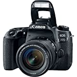 Canon EOS 77D DSLR Camera with Canon EF-S 18-55mm f/4-5.6 IS STM Lens + Canon EF 75-300mm f/4-5.6 III Lens + Canon EF 50mm f/1.8 STM Lens + 500mm f/8.0 Telephoto Lens + New Accessories Bundle
