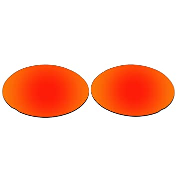 b1583d48798 ACOMPATIBLE Replacement Lenses for Oakley Eye Jacket 3.0 Sunglasses (Fire  Red Mirror - Polarized)
