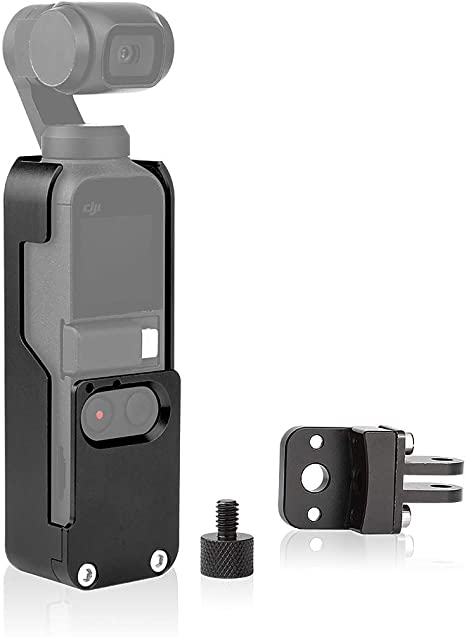 Can Cool Osmo Pocket Aluminum Alloy Heat Sink Protective Case Cage Mount Osmo