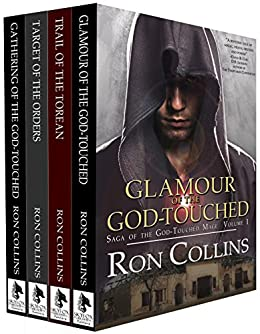 Saga of the God-Touched Mage (Vol 1-4) by [Collins, Ron]