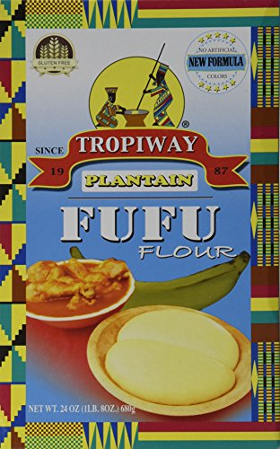 Price comparison product image Plantain Fufu Flour 24oz Pack of 2