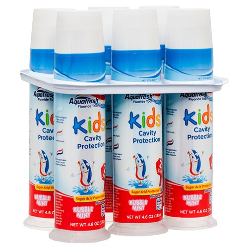 Aquafresh Kids Cavity Protection Toothpaste 4.6oz (6 ()