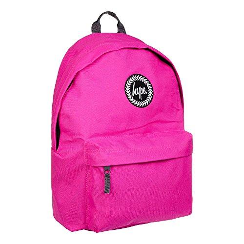 Hype Rucksack (Pink) - 40.5 x 30.5 x 17.5cm