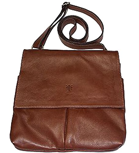 G Pelletteria amp; For Women G Leather Bag Folded Brown pqBEA4
