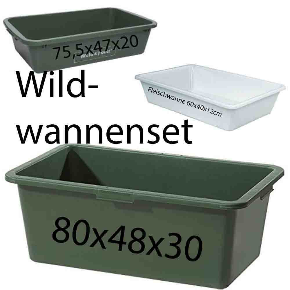 Wildwanne 60x40x12cm
