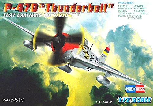Hobby Boss P-47D Thunderbolt Airplane Model Building for sale  Delivered anywhere in USA