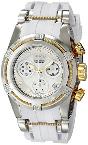 Invicta Women's 15279 Bolt Analog Display Swiss Quartz White Watch