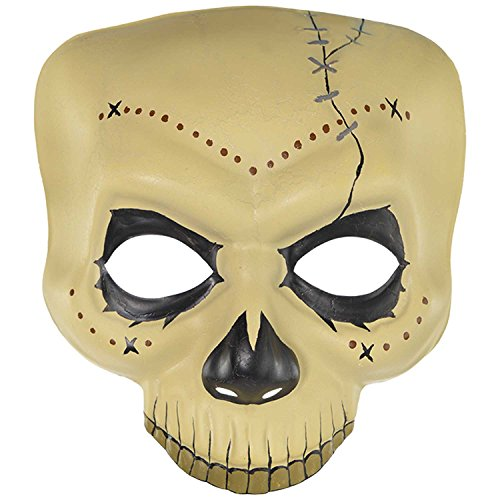 Amscan Witch Doctor Skull Mask]()
