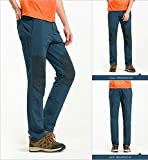 Aoqing Men's Quick Dry Pant Slim Fit for Outdoor Activities (Asian Size)