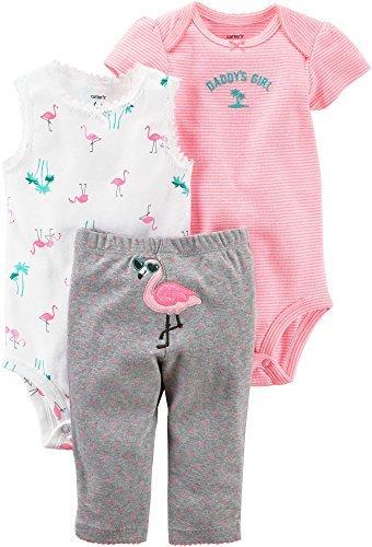 - Carter's Baby Girls' 3 Piece Little Character Set 18 Months