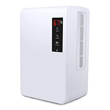 Luftentfeuchter mit 3L Wassertank,Air Dry ...
