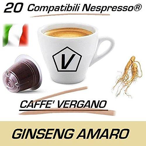 """3 opinioni per Capsule Compatibili Nespresso®, Capsule Caffè Vergano Miscela """"Ginseng Amaro"""""""