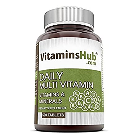 Vitaminshub Daily Multi Vitamins & Minerals Tablets, 500 Tablets ( Value Pack )